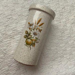 Pottery prairies graphic ceramic vase